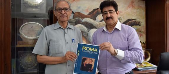 Dr. Shyam Singh Shashi With Sandeep Marwah