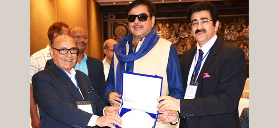 ICMEI Honored Shatrughan Sinha