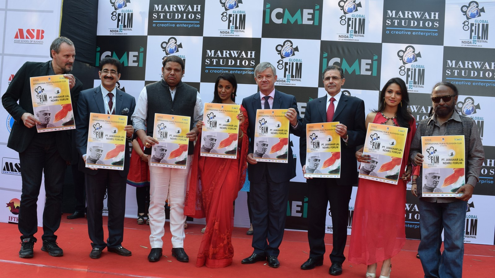 Poster of Pt. Jawaharlal Nehru Forum Released at 8th GFFN
