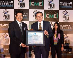 Marwah Honored High Commissioner of Cyprus With Life Membership of WPDRF