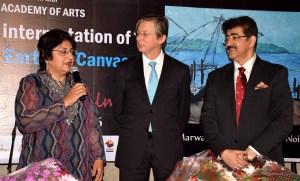 Exhibition of Paintings by Kiran Mehra at Marwah Studio