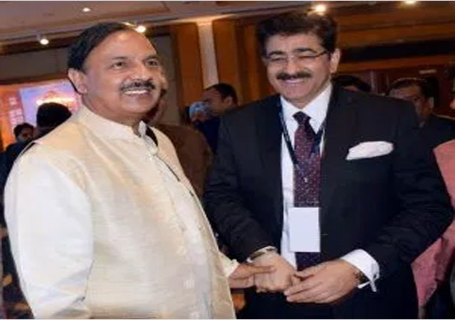 Sandeep Marwah Briefed The Cultural Minister About The Activities of ICMEI