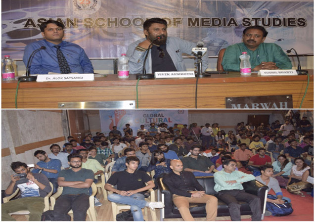 Master Class by Vivek Agnihotri at ASMS