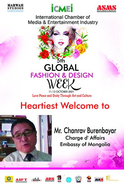 Mr. Chanrav Burenbayar